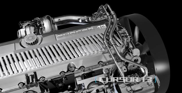 Động cơ CURSOR 9 mạnh mẽ, bền bỉ, tiết kiệm nhiên liệu