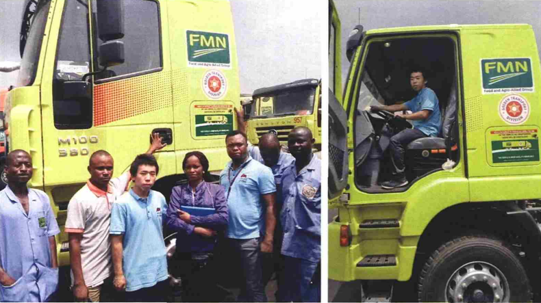 Xe đầu kéo IVECO-HONGYAN JIESI giao cho khách hàng Nigeria