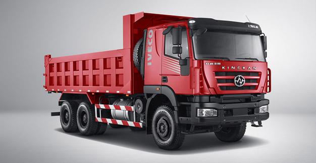 """Tổng quan xe tải ben IVECO-HONGYAN – """"Vua xe công trình số 1 Trung Quốc)"""